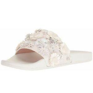 Kate Spade Womens Skye Floral Slide Sandals, sz 8